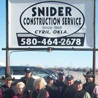 Snider Construction Service Inc