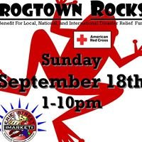 """American Red Cross Relief Concert-Frogtown Rocks"""