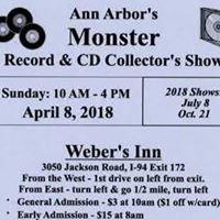 Ann Arbor's Monster Record & CD Show