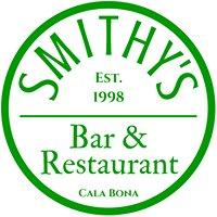 Smithy's Bar & Restaurant in Cala Bona