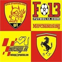 Grupo Tuka ,Futbol13, FerrariSpain, MotosGp
