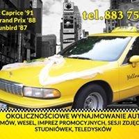 Yellow New York Taxi Wynajem do Ślubu Wesela
