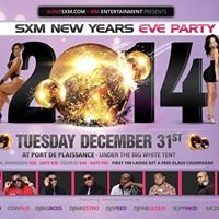 SXM New Year's Eve Party