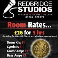 Redbridge Rehearsal Studios - Bolton
