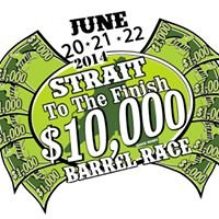 Strait To The Finish $10,000 Barrel Race