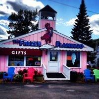 Frozen Flamingo, Munising, MI