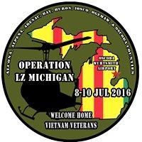 Operation LZ Michigan Welcome Home Vietnam Veterans