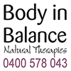 Body in balance natural therapies