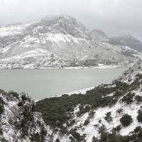 M'encanta veure la Serra de Tramuntana nevada