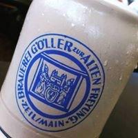 """Brauereigaststätte Göller """"Zur Alten Freyung"""""""