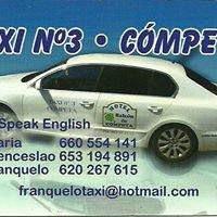 Taxi en Competa - Franquelo