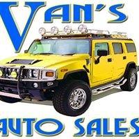 Van's Auto Sales