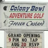 Colony Bowl Adventure Golf Frozen Custard