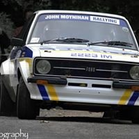 John Moynihan Rallying