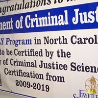 Fayetteville State University, Department of Criminal Justice