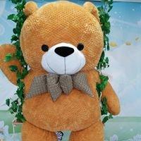 雲林最高最大的「福氣熊」就在大潤發斗南店
