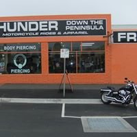 Thunder down the Peninsula -  Harley rides and motorcycle accessories