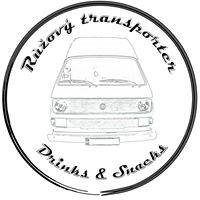 Růžový Transporter - drinks & snacks