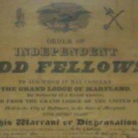 Washington Lodge #1 Independent Order of Odd fellows