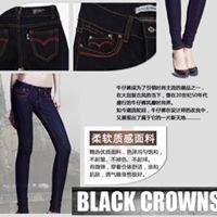 Black Crowns Jeans Shop