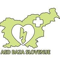 AED baza Slovenije