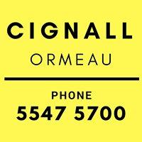 Cignall News Ormeau