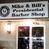 Mike and Bill's presidential Barbershop