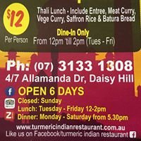 Turmeric Indian Restaurant