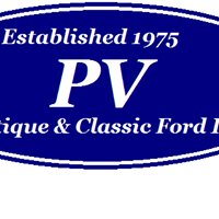 PV ANTIQUE & CLASSIC FORD, INC.