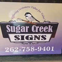 Sugar Creek Signs