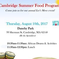Let's Move with Summer Food