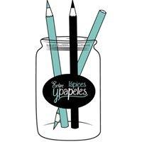 Entre lápices y papeles