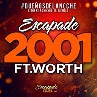 Escapade 2001 Fort Worth