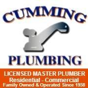 Cumming's Plumbing