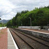 Dalmally railway station