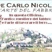 Fabbro De Carlo Nicola    ( Ruoti - Potenza - Basilicata )