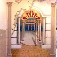 ציורי קיר וציורים לבית ולעסק בהזמנה אישית 0507450888