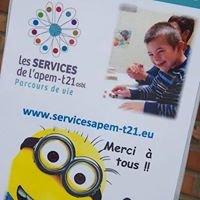 Les Services de l'APEM-T21