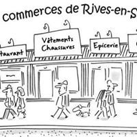 Commerces de Rives en Seine