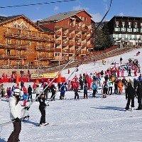Station de ski Le Sauze/ Super Sauze
