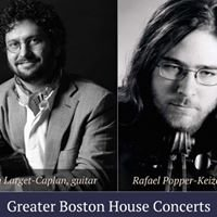 Greater Boston House Concerts