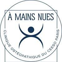 Clinique ostéopathique du CEESO Paris - A Mains Nues