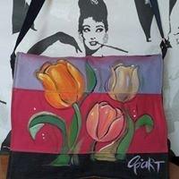 Ръчно рисувани дрехи и чанти