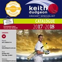 Keith Dudgeon Cricket Specialists