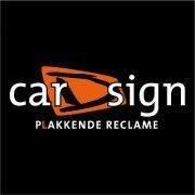 carDsign - plakkende reclame