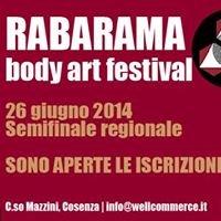 Rabarama Body Art Festival Semifinale regionale Calabria e Basilicata