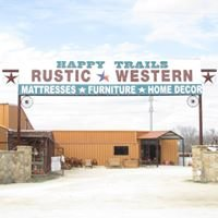 Happy Trails Rustic Western Furniture