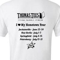 Thomas Tees Screen Printing