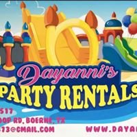 Dayanni's Special Events, Catering & Party Rentals