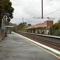 Eaglemont railway station